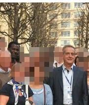 Le député maire et Moussa à un meeting à Rueil Malmaison le 27 mars 2012