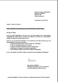 COURRIER 2014-005 Global Conseil